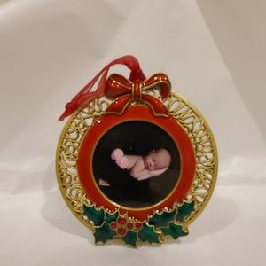 Uniquely Framed Holiday - Picture Frame Ornament